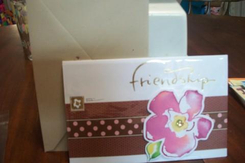 Free Birthday Card For Friend New W Envelope Kathy Davis