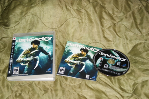 PS3 - Dark Sector - Great condition