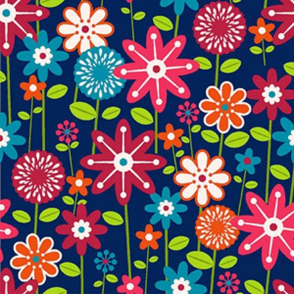 Free Blue Floral Vera Bradley Like Iphone Background