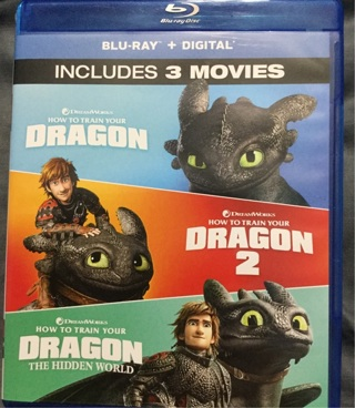 How to Train Your Dragon 3-Movie Collection Digital Download Code