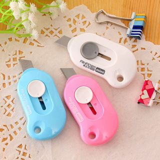 2Pcs Small Portable Mini Small Knife Keychain Hand Paper Knife Cutter Letter Opener