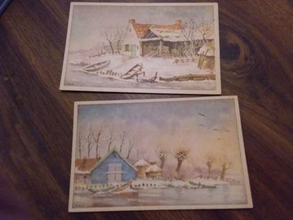 1945 Holland Postcards