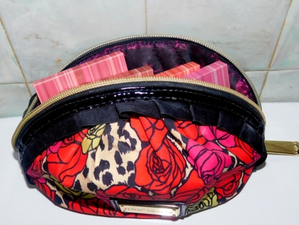 4 Beautiful *Bh BLUSHES* in *BETSEY JOHNSON MAKEUP BAG*