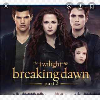 Twilight: Breaking Dawn part 2 digital for iTunes