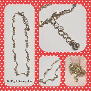 """8-11"""" anklet or X lg bracelet"""