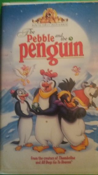vhs the pebble and the penguin free shipping