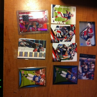 Buffalo Bills LOT JERSEY CARD ERIC MOULDS #004/100 Marshawn Lynch Rookie Card and More