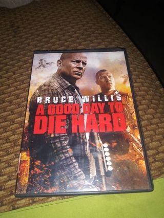 DVD A GOOD DAY TO DIE HARD