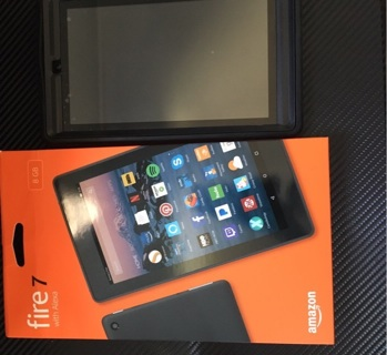 Amazon fire 7 tablet with Alexa L@@k