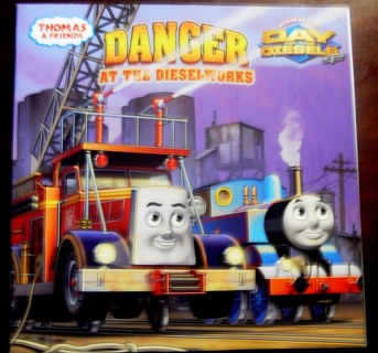 """""""Thomas and Friends..Danger at the Diesel Works"""" Book"""