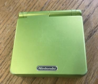Nintendo Game Boy Advance SP Lime Green