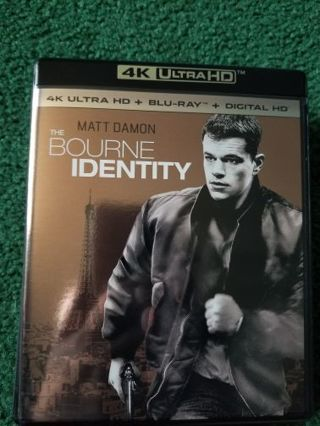 Bourne identity uv