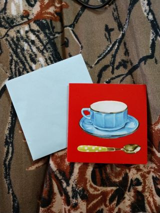 Small Blank Gift Card