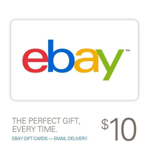 Ebay Digital Gift Card: Free: $10 EBay Gift Card