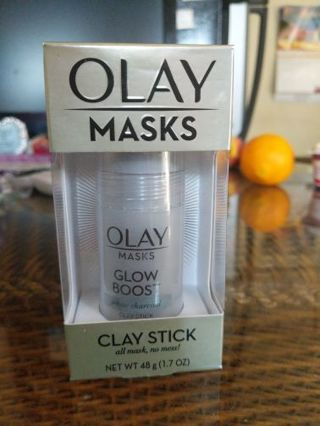 Olay glow boost white charcoal clay stick
