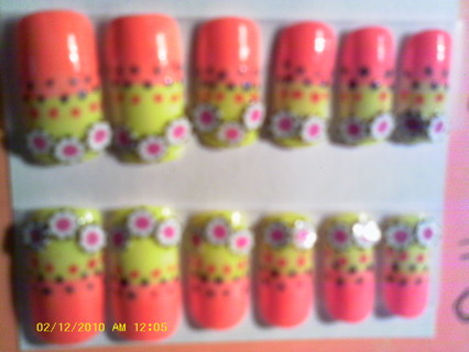 LIZARD TOES DESIGNER NAILS (O Happy Day)