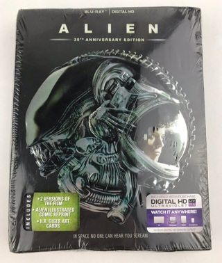 ✯Alien (1979) 35th Anniversary (Blu-ray/Digital) + Comic Reprint BRAND NEW ~ FREE SHIPPING✯