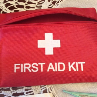 First Aid Kit. 24 items.