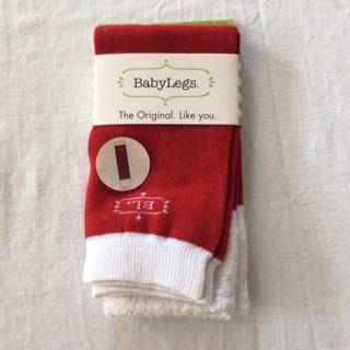 Brand New Baby Legs Leggings Santa Baby