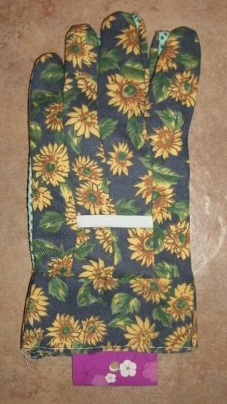 Sunflower Garden Gloves