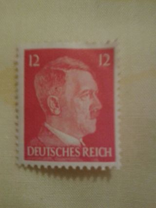 COLLECTABLE ADOLF HITLER STAMP