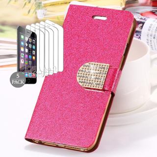 NEW Luxury Glitter Bling Case For APPLE iPHONE 6
