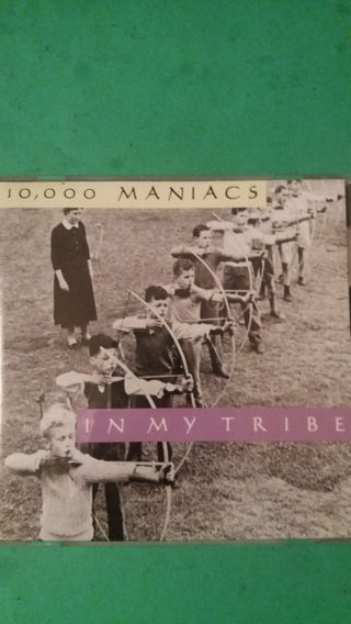 cd  10,000 maniacs  in my tribe  free shipping