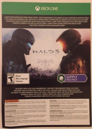 Free: Halo 5: Guardians Supply Req Pack Redemption Code ...
