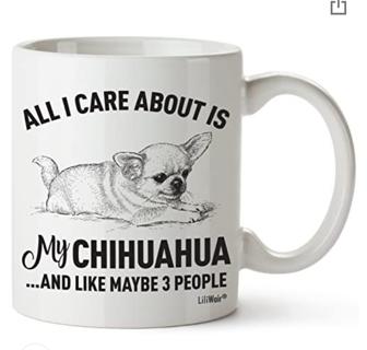 20% OFF! Chihuahua Mom Gifts Mug