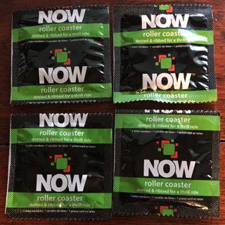 4 NOW Roller Coaster Condoms