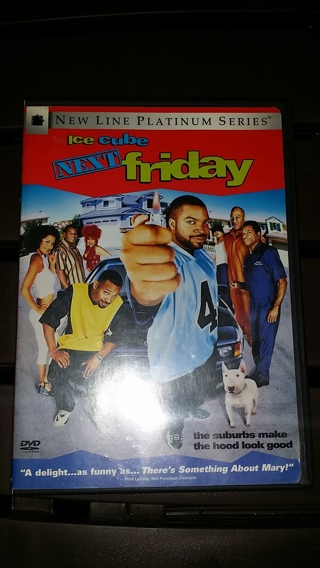 """ICE CUBE in """"Next Friday"""" DVD Movie in Great Working Condition / Free Shipping"""