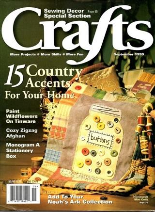 CRAFTS MAGAZINE - Sep 1999