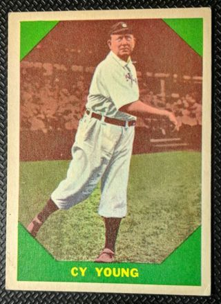 VINTAGE 1960 CY YOUNG CARD