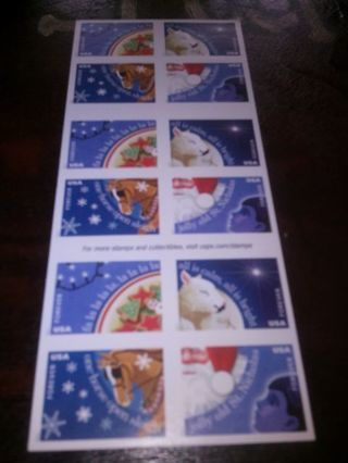 DON'S DAILY DEAL. 20 FOREVER CHRISTMAS STAMPS.HO HO HO. 11 DOLLAR VALUE.