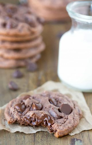 ❄(New) Double Chocolate Chip Pudding Cookie Recipe ❄