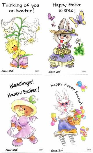 Easter Sticker Mix