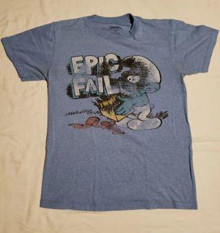 The Smurfs 'Epic Fail' Graphic T-Shirt