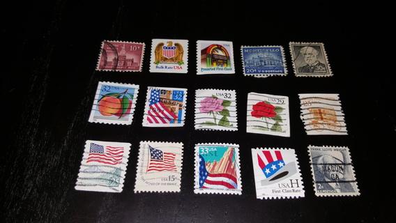 Us stamp lot #620