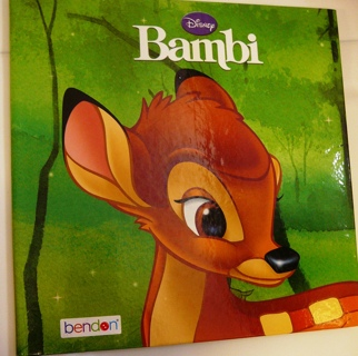 "Disney; ""Bambi"" Children's Reading Book"
