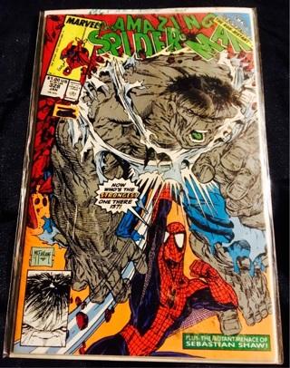 The Amazing Spider-Man #328 vs. The Hulk ~ Todd McFarlane !