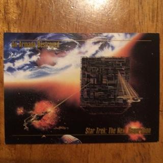 1993 SkyBox Master Series Star Trek - [Base] #19 An Armada Destroyed