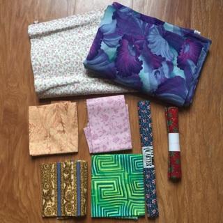 Quilter's Joy Fabric Lot Fat Quarters & More