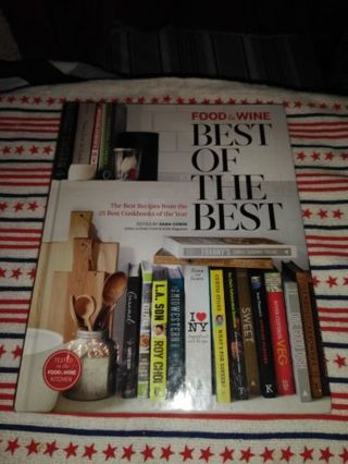 ⭐⭐⭐⭐BRAND NEW FOOD & WINE BEST OF THE BEST COOKBOOK⭐⭐⭐⭐VOLUME 17