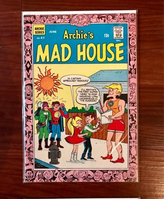 Archie's Mad House #47 12 Cent Cover Silver Age Mint