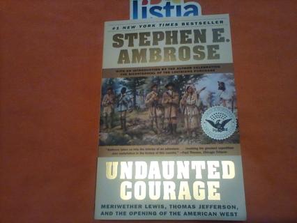 *Undaunted Courage*