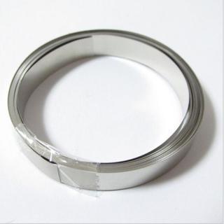 5m 8mm x 0.1 Pure Ni Plate Nickel Strip Tape For Li 18650 Battery