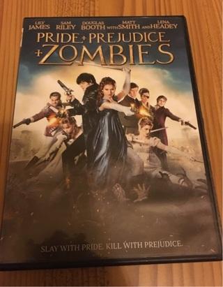 Pride + Prejudice + Zombies DVD