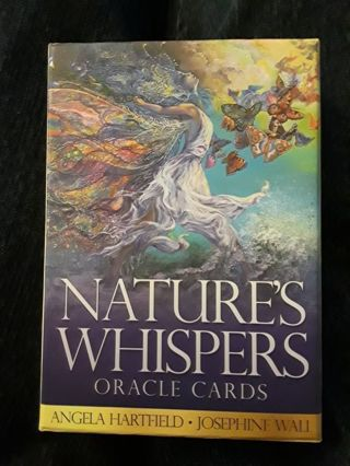 NATURE'S WHISPERS ORACLE CARD READING