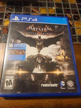 Ps4 Batman Arkham Knight flawless disc Playstation