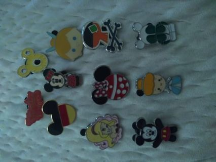 Mixed Disney pin lot